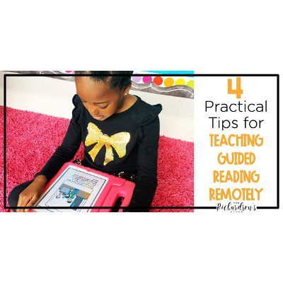 4 Practical Steps to Teaching Guided Reading Remotely icon