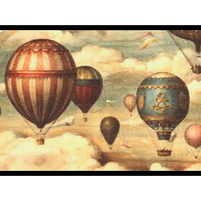 Hot Air Balloon ~ Montgolfier Brothers