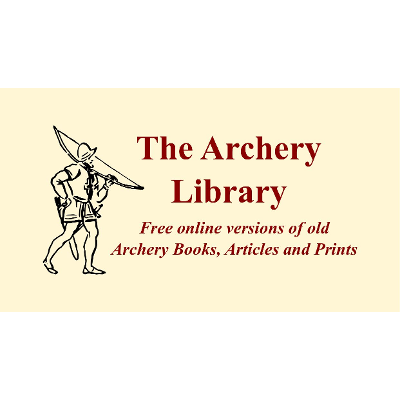 The Archery Library: Free online versions of old Archery Books, Articles and Prints icon