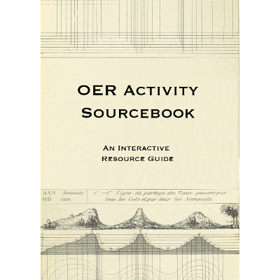 OER Activity Sourcebook – Open Textbook icon