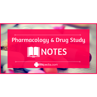 RNpedia - Drugs for Pharmacology