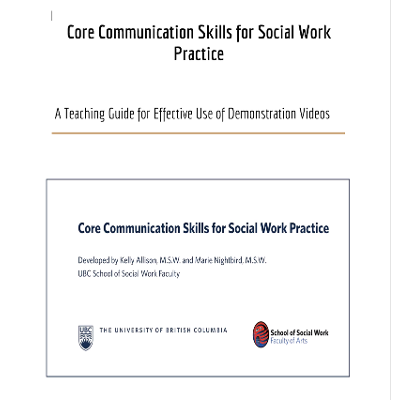 A Toolkit for Teaching Communication Skills in Social Work icon