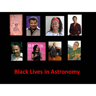 Black Lives in Astronomy icon