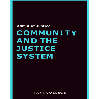 Community and the Justice System icon