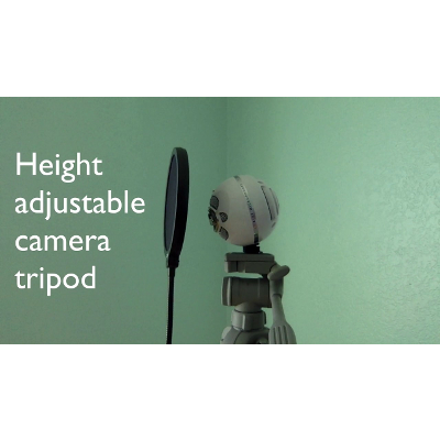 How to Mount Your Blue Snowball Mic on a Camera Tripod. Height Adjustable Stand for $6 icon