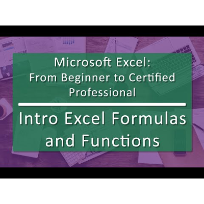 Unit 04 Excel Formulas and Functions (Playlist with 7 videos) icon