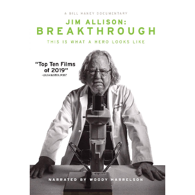 Jim Allison: Breakthrough (film) and Educator Toolkit icon