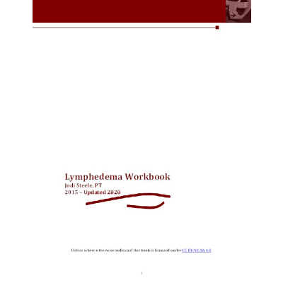 Lymphedema Workbook - Jodi Steele, PT | Niagara College Digital Archive icon