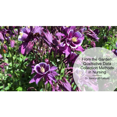 From the garden:  Qualitative data collection methods in nursing. icon