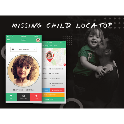 MISSING CHILD LOCATOR icon