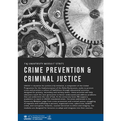 Crime Prevention and Criminal Justice icon