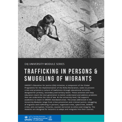 Trafficking in Persons; Smuggling of Migrants icon