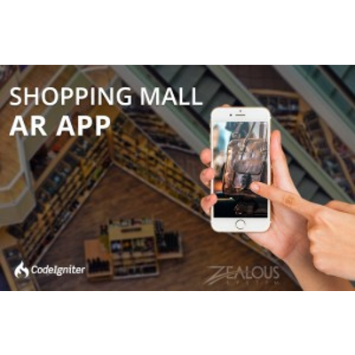 Shopping Mall Augmented Reality App