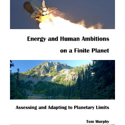 Energy and Human Ambitions on a Finite Planet icon