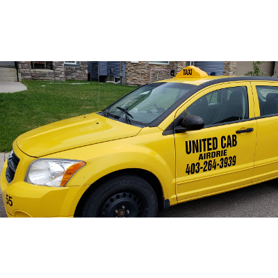 Airdrie Taxi United Cab & Airport Taxi 403-264-3939 Airport Cab Flat Rate $35 Taxi Cab Service Crossfeild Taxi , Crossfeild Cab taxi number cab number icon