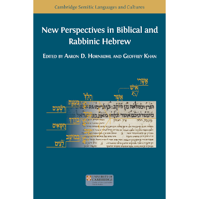 New Perspectives in Biblical and Rabbinic Hebrew icon