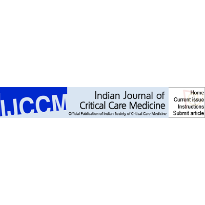 Stress and Burnout among Intensive Care Unit Healthcare Professionals in an Indian Tertiary Care Hospital icon