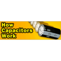How Capacitors Work icon