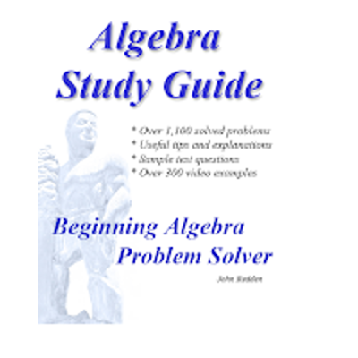 Algebra Study Guide with Videos