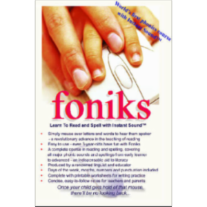Foniks - Learn to Read and Spell with Instant Sound?