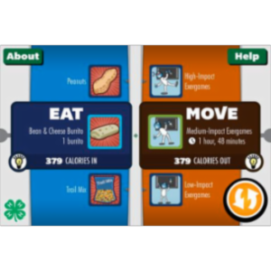 Eat-and-Move-O-Matic App for iOS icon