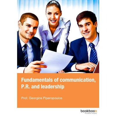 Fundamentals of communication, P.R. and leadership icon