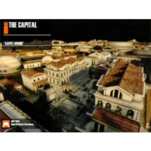 Virtual History ROMA App for iPad icon