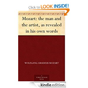 Mozart: the man and the artist, as revealed in his own words icon