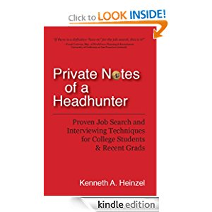 Private Notes of a Headhunter: Proven Job Search and Interviewing Techniques for College Students and Recent Grads icon