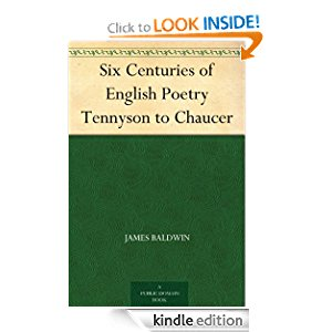 Six Centuries of English Poetry Tennyson to Chaucer icon