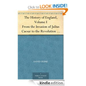 The History of England, Volume I From the Invasion of Julius Caesar to the Revolution in 1688 icon