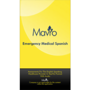 AUDIO-Medical Spanish App for iOS icon