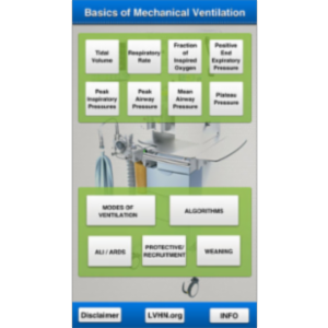 Basics of Mechanical Ventilation App for iOS icon