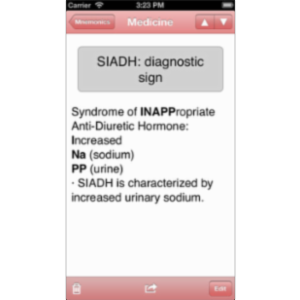 Med Mnemonics App for iOS icon