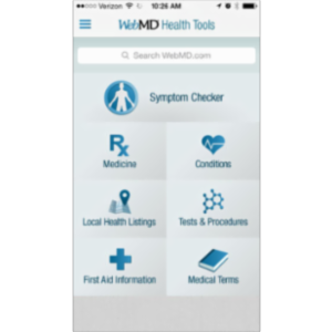 WebMD-Trusted Health and Wellness App for iOS icon