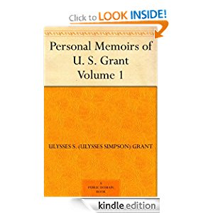 Personal Memoirs of U. S. Grant - Volume 1 icon