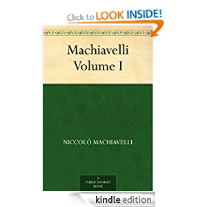 Review: Machiavelli, Volume I