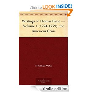 Writings of Thomas Paine - Volume 1 (1774-1779): the American Crisis icon