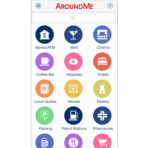 Around Me App for iOS icon