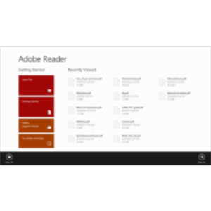 Adobe Reader Touch App for Windows icon