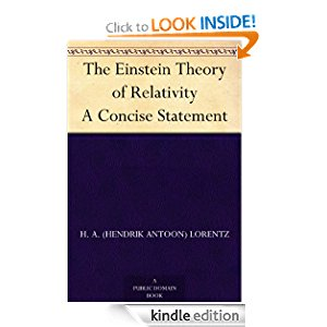 The Einstein Theory of Relativity A Concise Statement icon