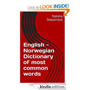 English - Norwegian Dictionary of most common words icon