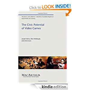 The Civic Potential of Video Games (The John D. and Catherine T. MacArthur Foundation Reports on Digital Media and Learning) icon