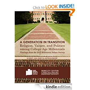 A Generation in Transition: Religion, Values, and Politics among College-Age Millennials icon