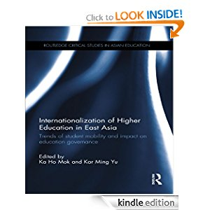 Internationalization of Higher Education in East Asia: Trends of student mobility and impact on education governance (Routledge Critical Studies in Asian Education) icon