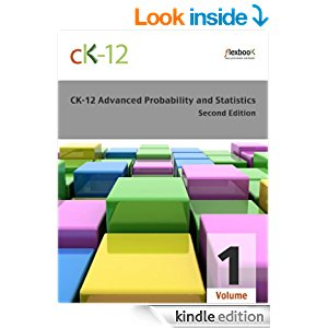 CK-12 Probability and Statistics - Advanced (Second Edition), Volume 1 Of 2 icon