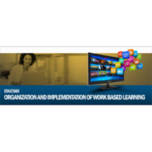 Organization and Implementation of Work Based Learning icon