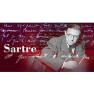 La BnF: Jean-Paul Sartre icon