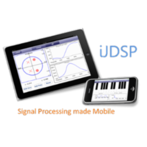 iJDSP: A Mobile Signal Analysis Educational App for iOS Smartphones and Tablets icon