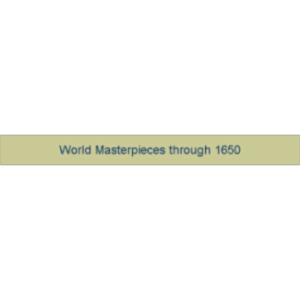 World Masterpieces through 1650 icon